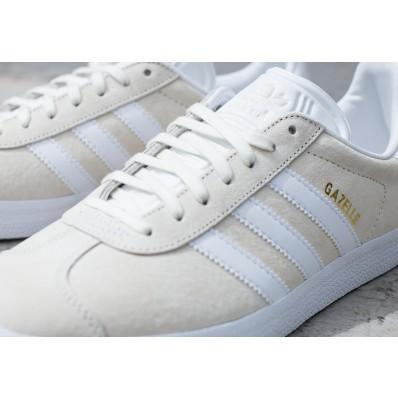 adidas gazelle beige blanc