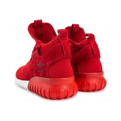 adidas tubular x primeknit rouge