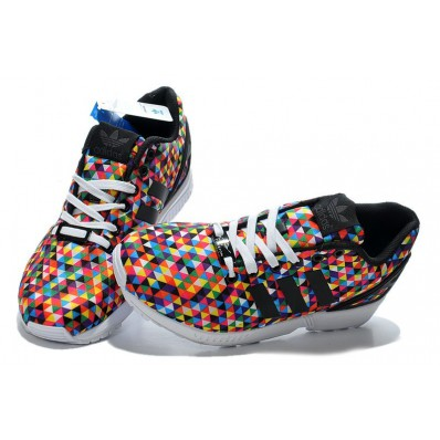 adidas zx flux multicolor homme