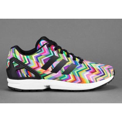 adidas zx flux multicolor torsion