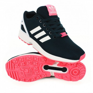 adidas zx flux rose solde