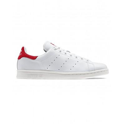 basket adidas stan smith og blanc et rouge