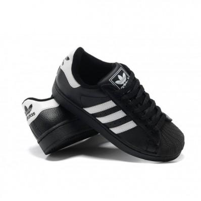 chaussure adidas femme noir et blanc pas cher