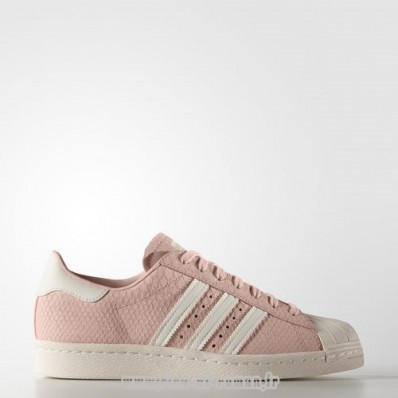 chaussures adidas femme blanche et rose