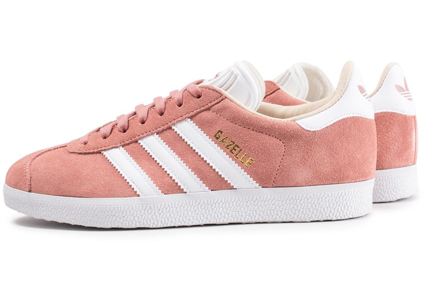gazelle adidas femme rose