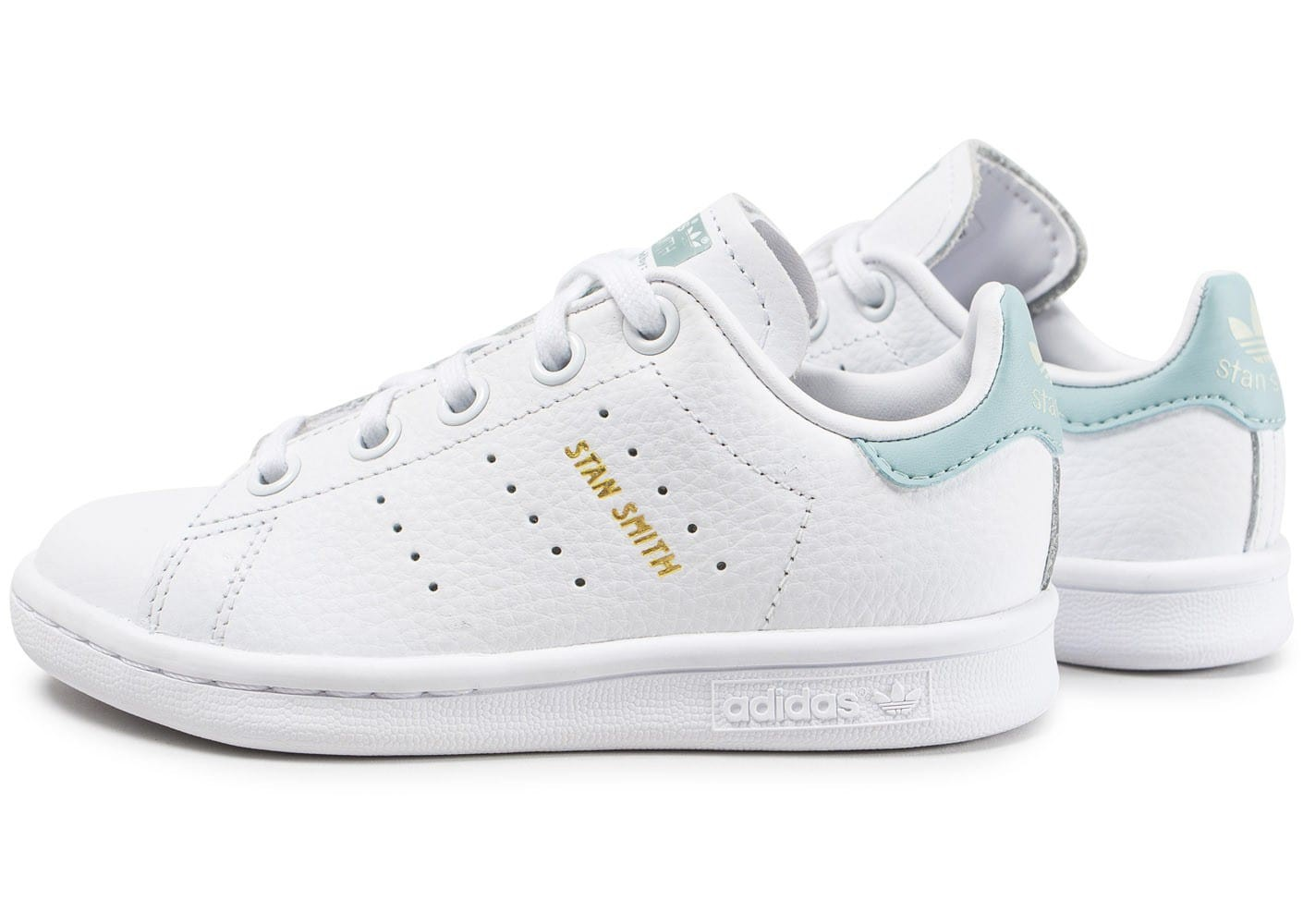 stan smith blanc bleu ciel