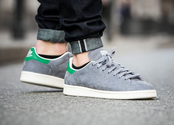 stan smith en daim