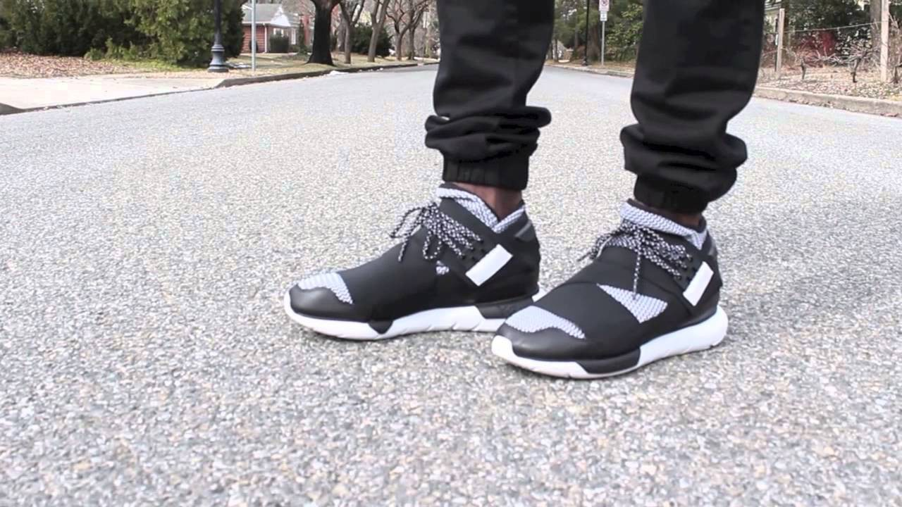 f6d0ec671 adidas y3 qasa high on feet