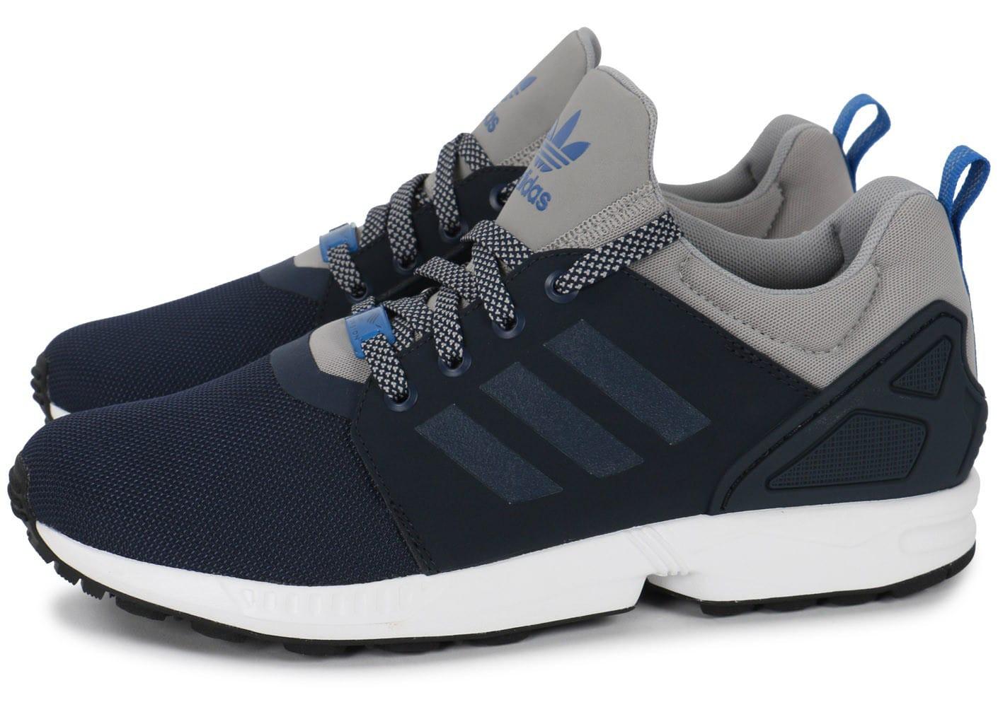 adidas zx flux bleu foncé