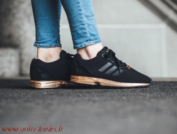 adidas femme zx flux gold