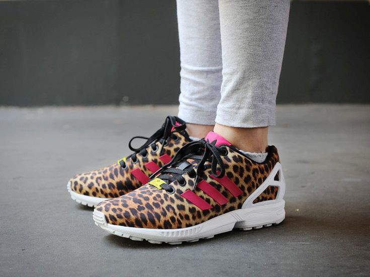 adidas zx flux léopard