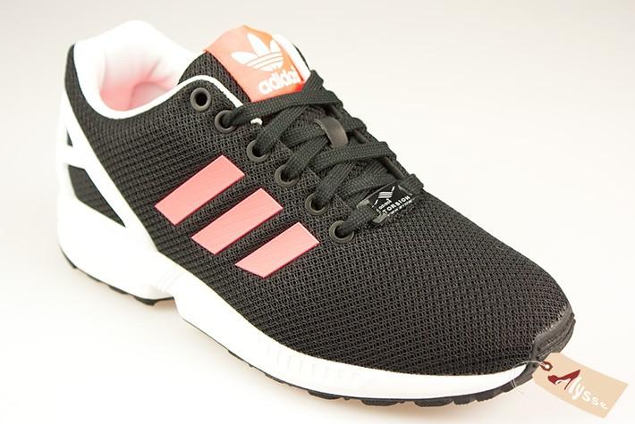 nouveau produit 5f6ad 0874a online store 66dd6 e7cec adidas zx flux noir et or femme ...