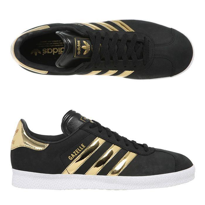 Soldes > adidas noir et doré femme > en stock