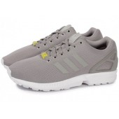 adidas zx flux grise et rose
