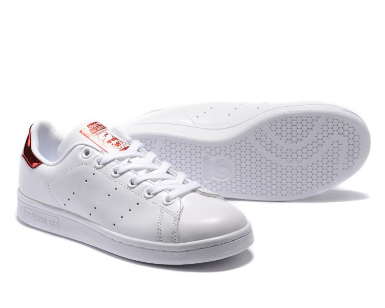 e06e672a2946fd adidas stan smith cuir blanc