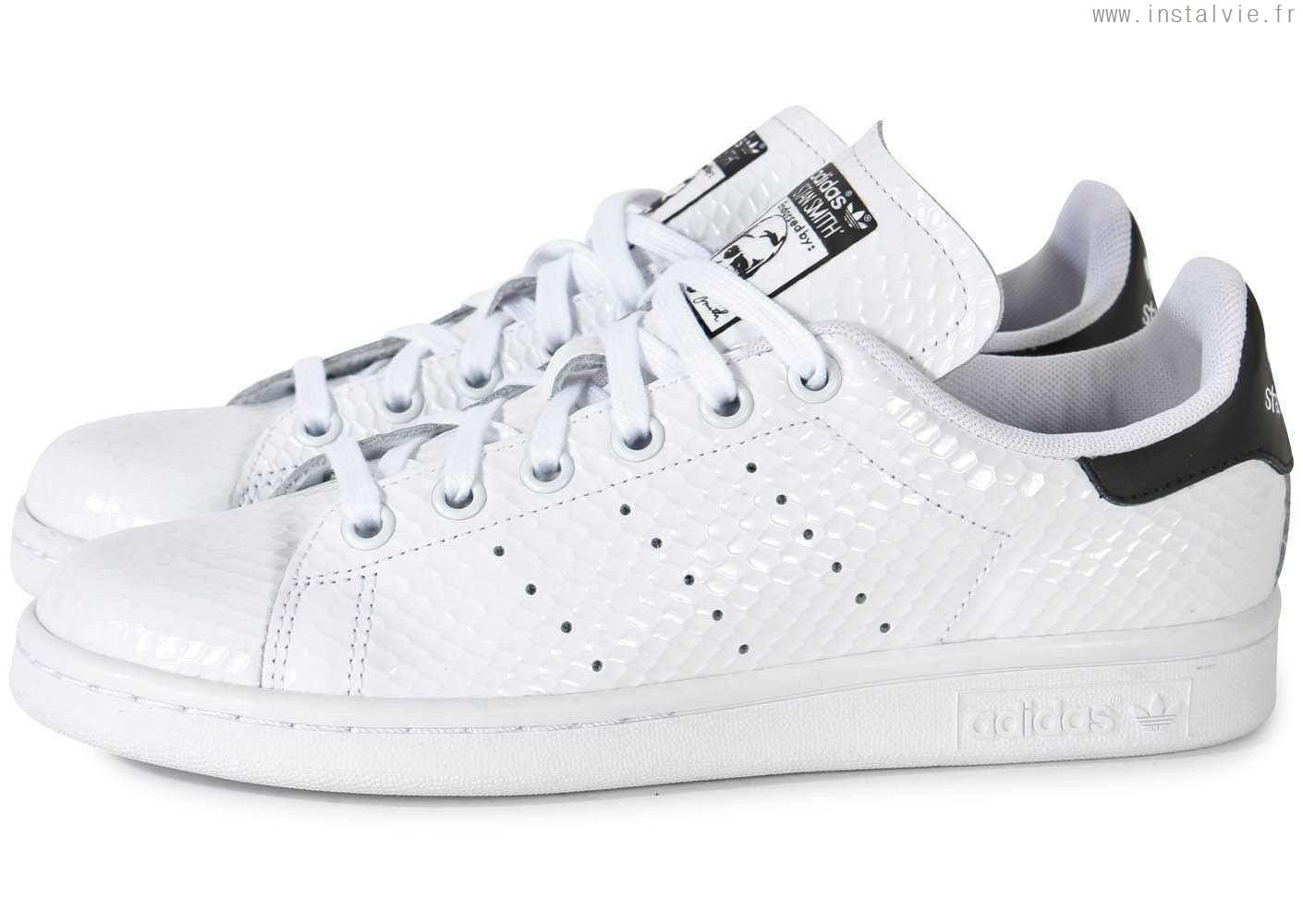 0afb705ca7ae3 adidas stan smith femme blanc et noir