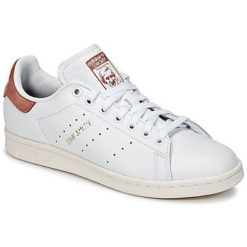 Adidas Stan Smith suede femme Rose pale beige B41595