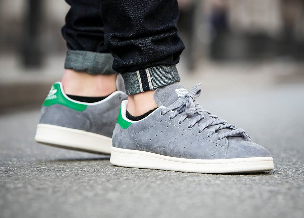 stan smith grise daim