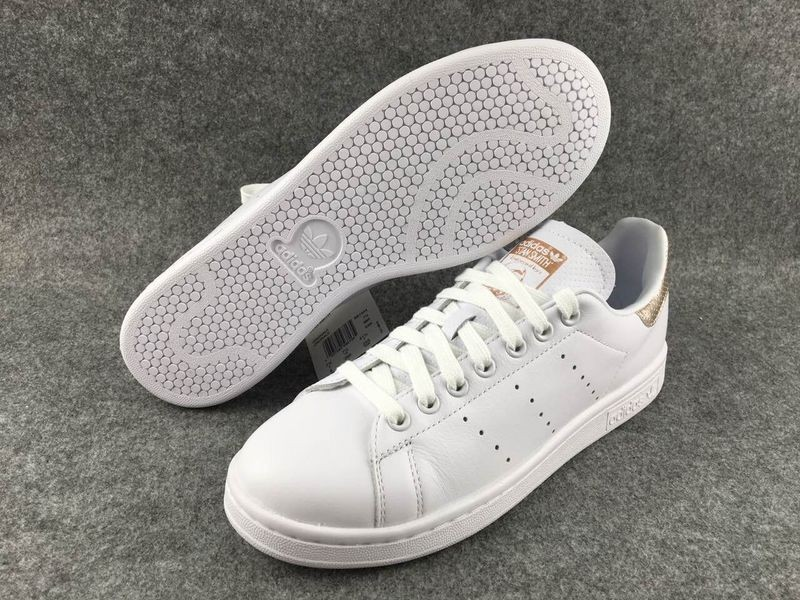 stan smith croco doré