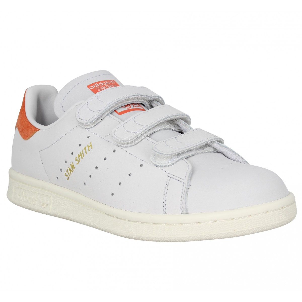 wholesale price the sale of shoes new style adidas stan smith scratch blanche