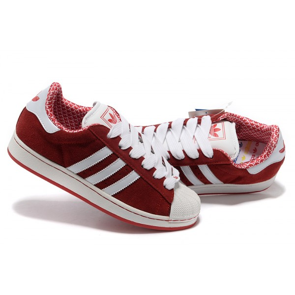 super populaire c60cd 45499 Superstar Rouge Adidas Femme Femme Superstar Adidas Bande kiPXZu