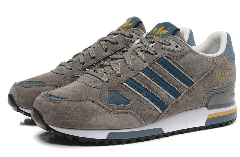 adidas zx 750 grey yellow