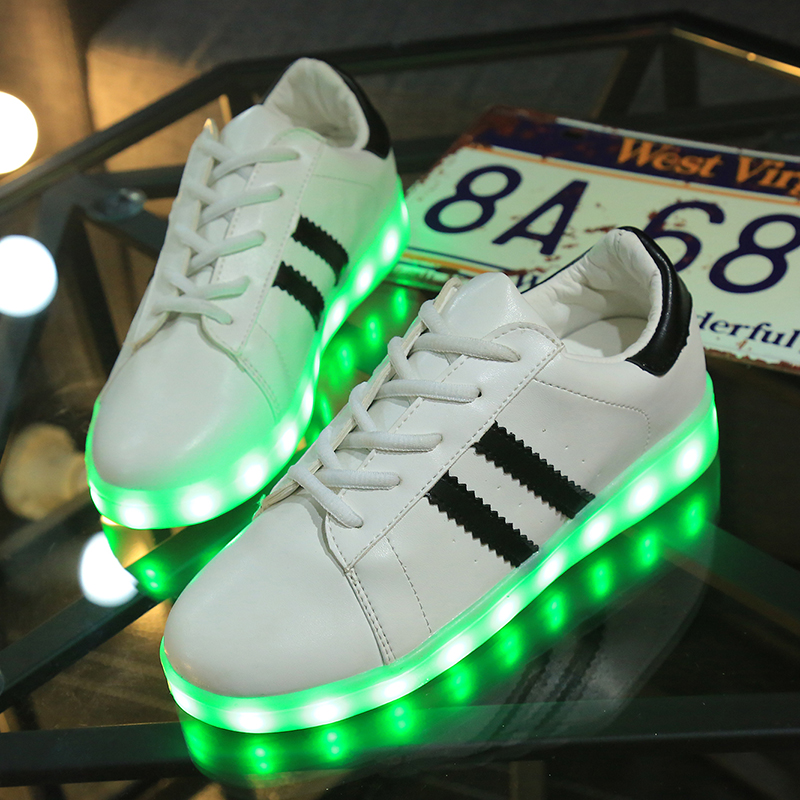 basket led fille adidas